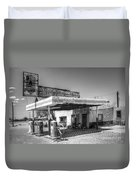 Glory Days Of Route 66 Duvet Cover