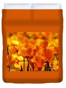 Glory Of Poppies Duvet Cover