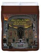 Glory To God In The Highest Duvet Cover