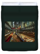 Gloucester Cathedral Choir Duvet Cover