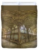 Gloucester Cathedral Cloisters Duvet Cover