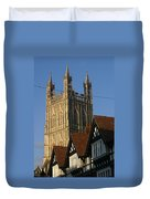 Gloucester Cathedral Spire Duvet Cover