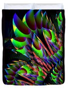 Glow In The Dark Abstract Duvet Cover