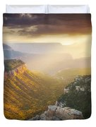 Glow Of The Gods Duvet Cover by Peter Coskun