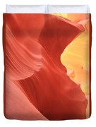 Glow Under The Desert Floor Duvet Cover