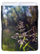 Glowing Grass In Palo Duro Canyon 100613.02 Duvet Cover