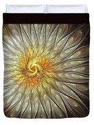 Glowing Petals Duvet Cover
