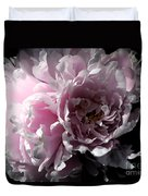 Glowing Pink Peony Duvet Cover