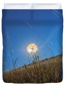 Glowing Summer Duvet Cover
