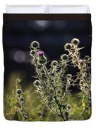 Glowing Thistle - 1 Duvet Cover
