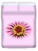 Glowing Zinnia By Kaye Menner Duvet Cover