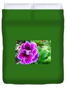 Gloxinia Flower Duvet Cover