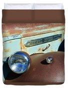 Gmc Truck Side Emblem Duvet Cover