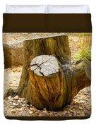 Gnarly Stump Duvet Cover