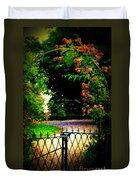 Go And Smell The Roses Duvet Cover