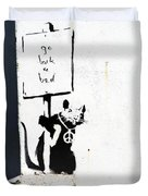 Go Back To Bed Protester Duvet Cover