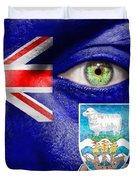 Go Falkland Islands Duvet Cover