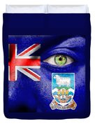 Go Falkland Islands Duvet Cover