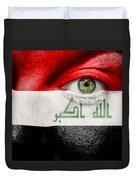 Go Iraq Duvet Cover