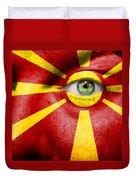 Go Macedonia Duvet Cover