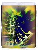 Hopefully We Will Go Sailing Tomorrow Duvet Cover