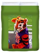 Go Tigers Fight Duvet Cover
