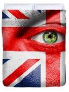 Go United Kingdom Duvet Cover