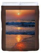 Goan Sunset. India Duvet Cover