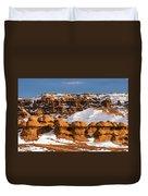 Goblin Valley Duvet Cover