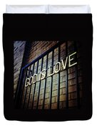 God Is Love Duvet Cover