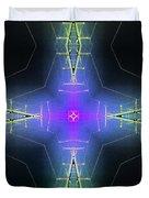 God Particle Duvet Cover