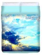 God Shine #2 Duvet Cover