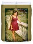 God Within Duvet Cover
