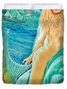 Goddess Atargatis 1000 Bc Duvet Cover