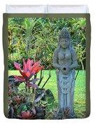 Goddess Bhudevi Mother Earth Duvet Cover by Karon Melillo DeVega