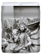 Goddess Durga Duvet Cover by Shaun Higson