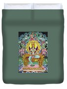 Goddess Of Asia Duvet Cover