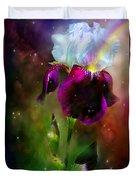 Goddess Of The Rainbow Duvet Cover