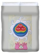 Goddess Wizard Duvet Cover