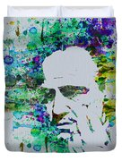 Godfather Watercolor Duvet Cover