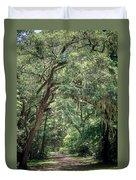 God's Canopy Duvet Cover