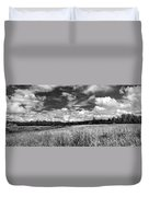 God's Country In Monochrome Duvet Cover