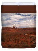 Gods In The Distance Duvet Cover