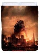 Godzilla 2014 Duvet Cover