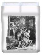 Goethe: Doctor Faust Duvet Cover