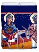 Going To Bethlehem Duvet Cover