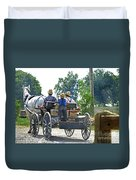 Going To Market Duvet Cover by Paul Mashburn