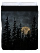 Going To The Sun Moonrise Duvet Cover