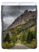 Going To The Sun Road Duvet Cover