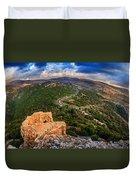 Golan Heights Duvet Cover